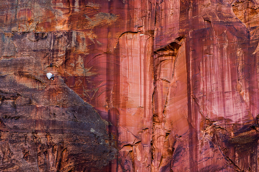 The Lone Climber of Zion