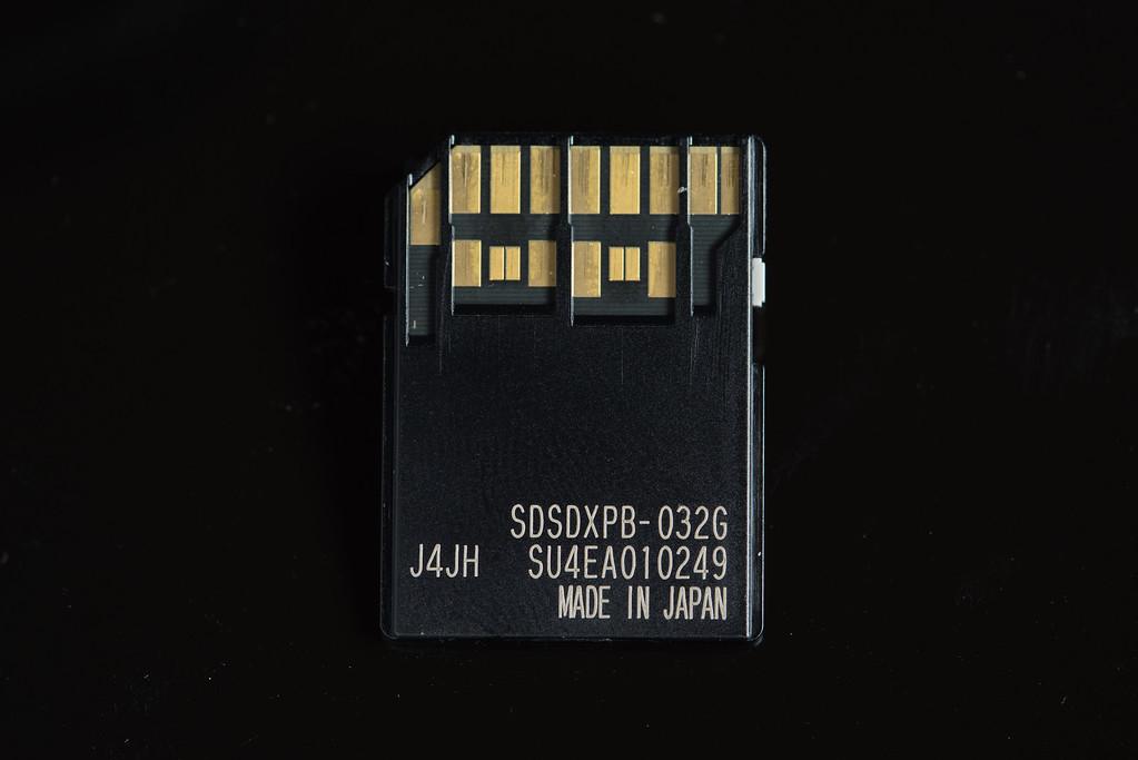 Fuji X-T1 UHS-II Memory Card