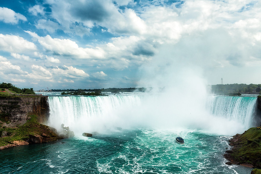 Niagara FallsThis is a shot form the Canadian side of the Niagara Falls. The weather during the late summer is awesome. The are so massive in real life, It's one of those places you have to see for yourself. See more of my Photography at AlikGriffin.com