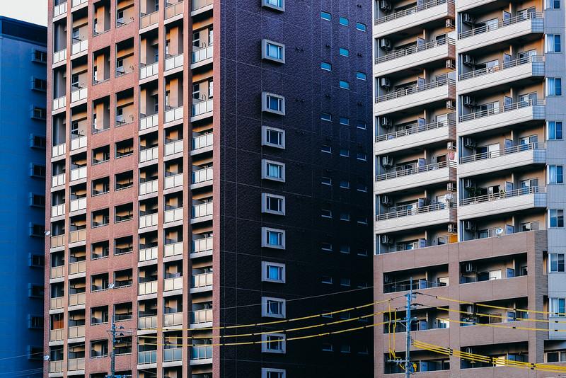 Downtown Fukuoka Japan