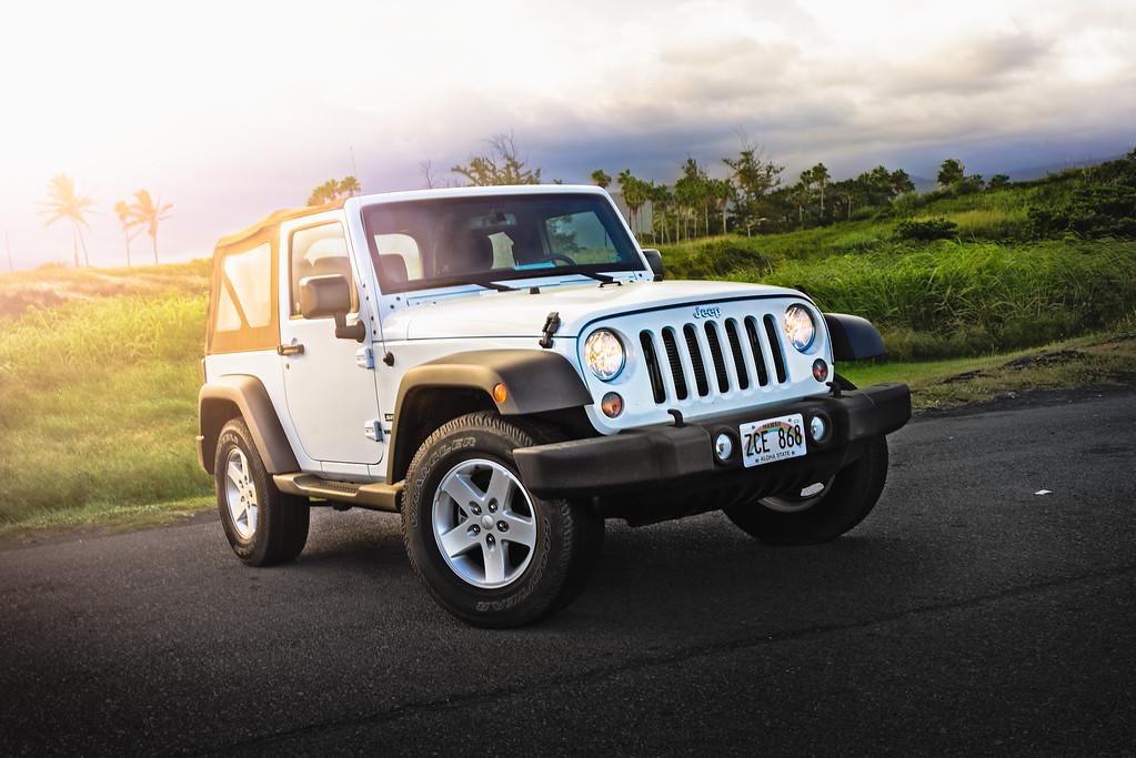Rental Jeep On The Big Island