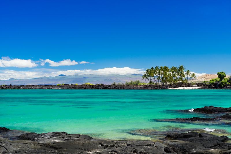 Hawaii Big Island Landscape.